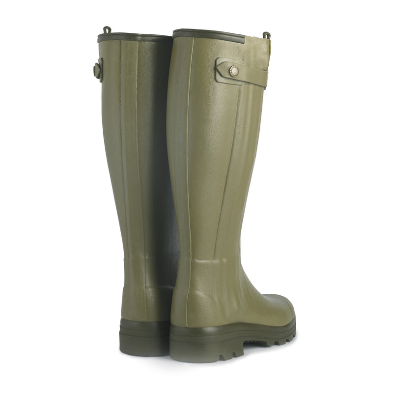 Chasseur Leather Lined Boot (Vert Vierzon)