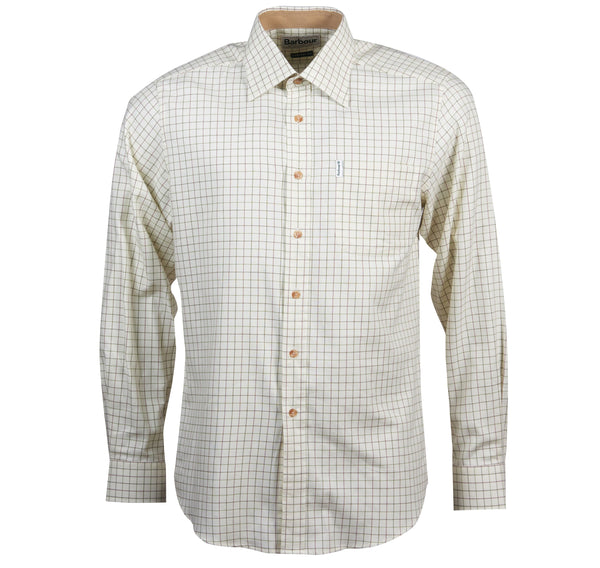 Field Tattersal Shirt (Green/Brown)