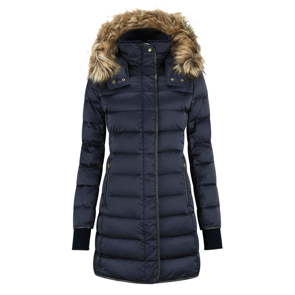 Mayfair Down Coat (Navy)