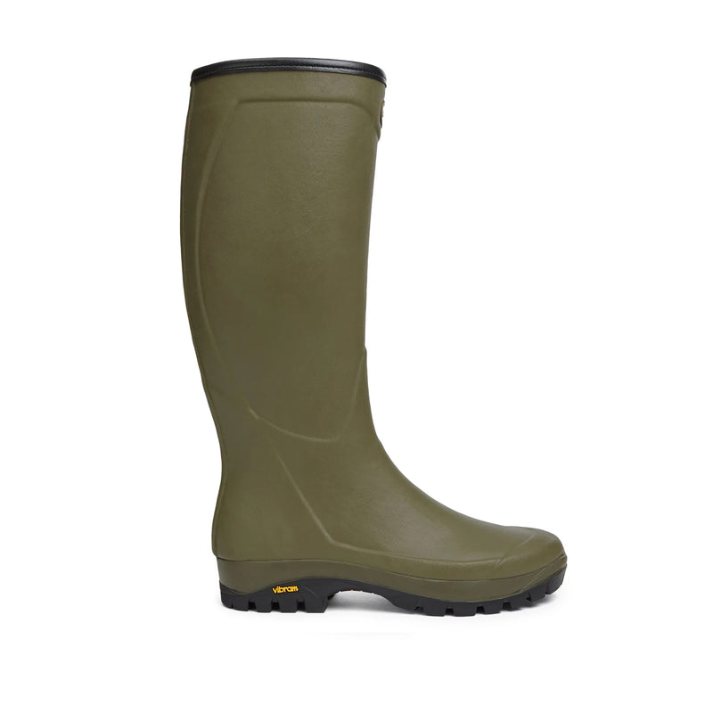 Country Vibram Jersey Lined Boot (Vert Vierzon)