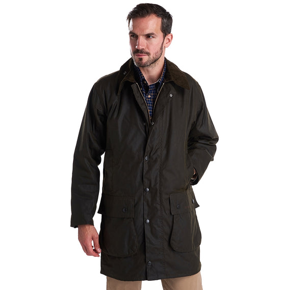 Classic Northumbria Wax Jacket (Olive)