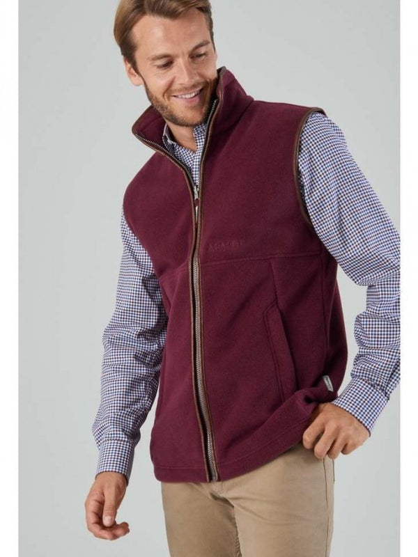 Oakham Fleece Gilet (Fig)