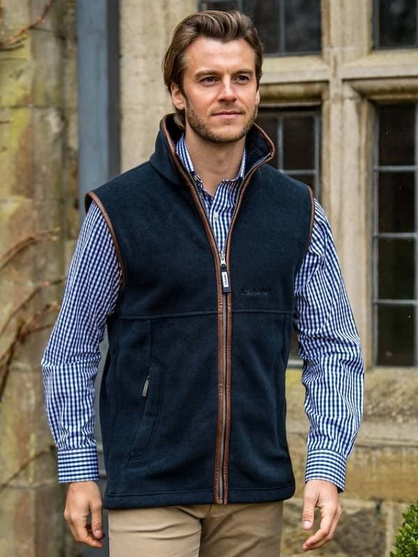 Oakham Fleece Gilet (Navy)