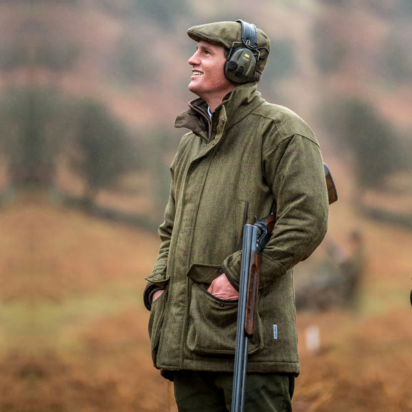 Ptarmigan Tweed Shooting Coat (Sandringham Tweed)