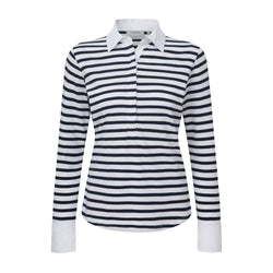 Salcombe Shirt (Harbour Stripe Navy)