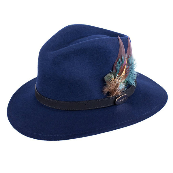 Suffolk Fedora (Gamebird Navy)