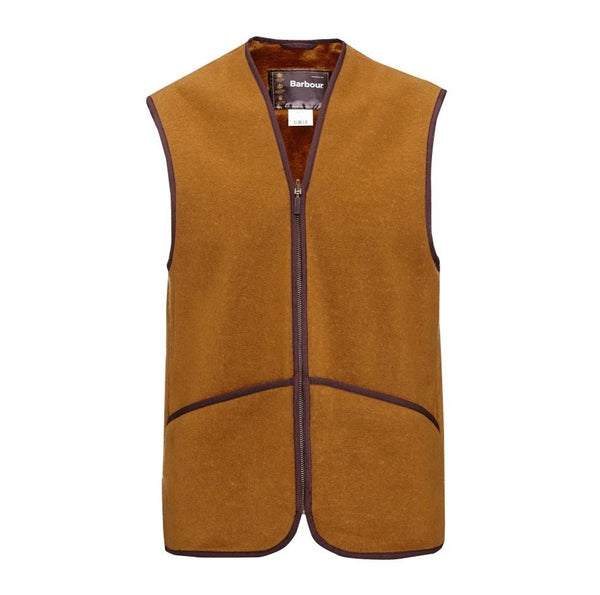 BARBOUR mens warm liner waistcoat brown shooting clothing