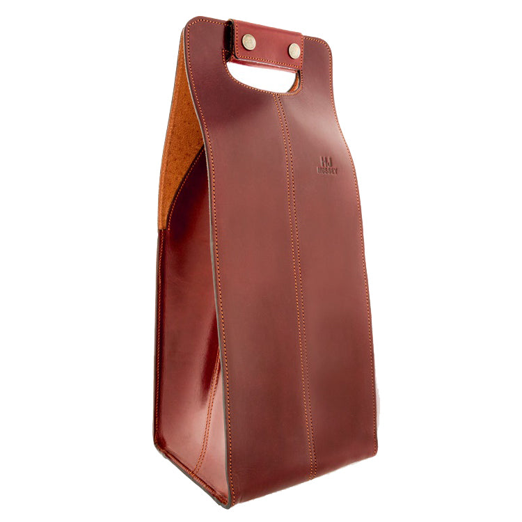 leather shooting accessories wine carrier