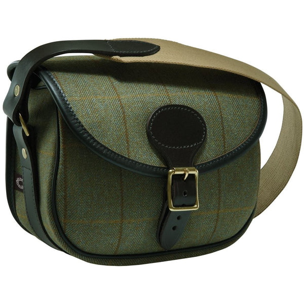 Croots Cartridge Bag (Helmsley Tweed)