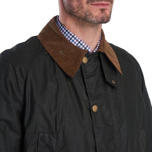 Hopsack Wax Jacket (Green)