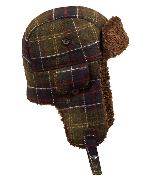 Tartan Hunter Hat with Ear Flaps (Small)