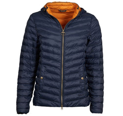 barbour ladies highgate quilted navy jacket