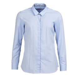 barbour ladies hyde shirt blue liberty