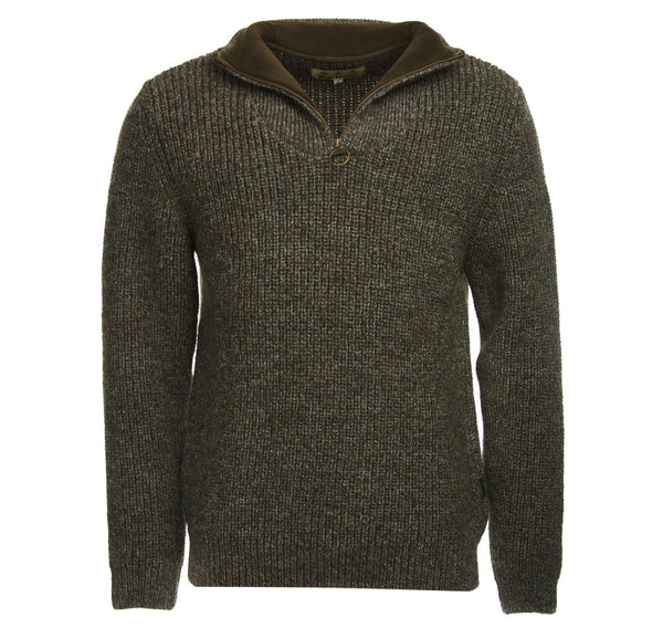Barbour Mens Lambswool Jumper Half Zip