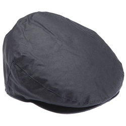 barbour mens navy waxed flat cap country clothing