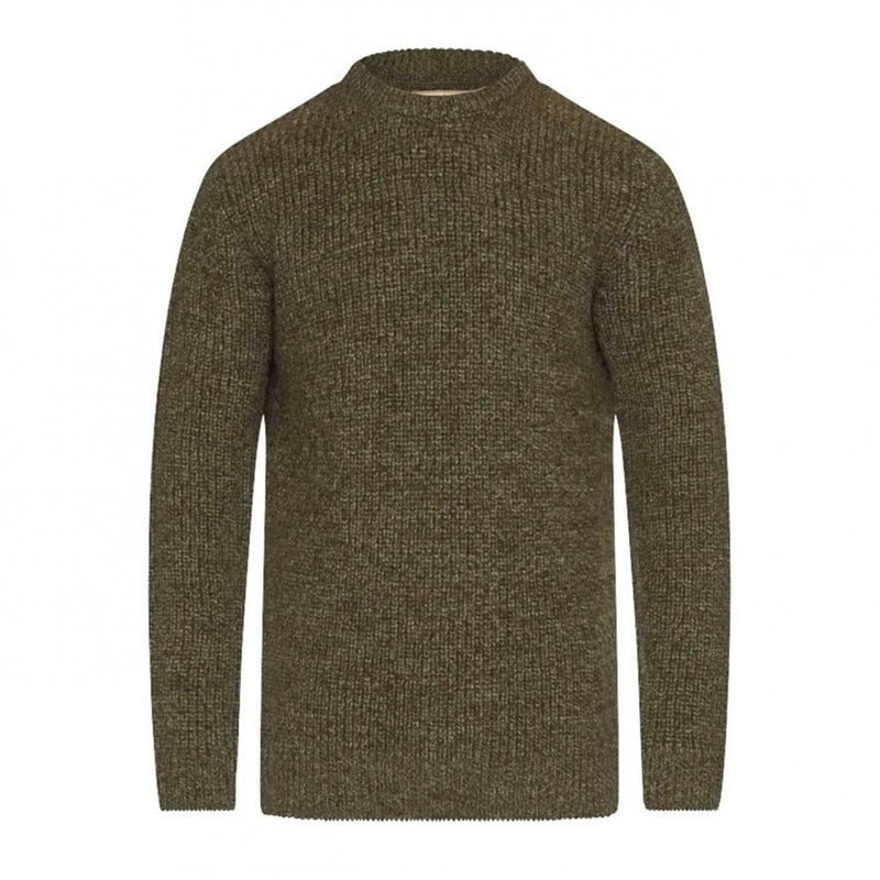 barbour new tyne crew mens jumper