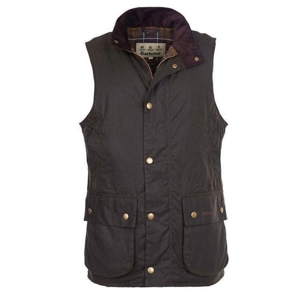 barbour mens gilet country clothing GREEN