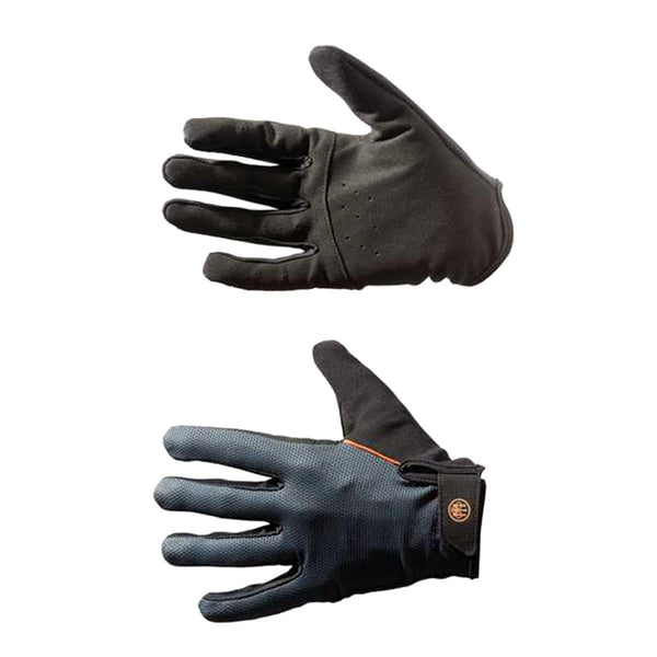 Full Finger Mesh Shooting Gloves (Black & Grey)