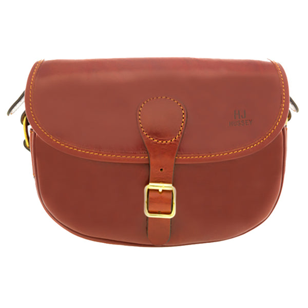 HJ Hussey luxury leather cartridge bag
