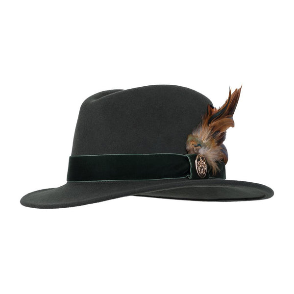 Chelsworth Fedora (Olive Green)