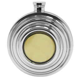 Clay Pigeon 6oz Pewter Hip Flask