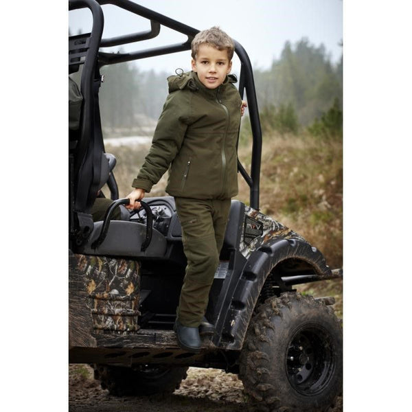 Eton Kids Trouser (Pine Green)