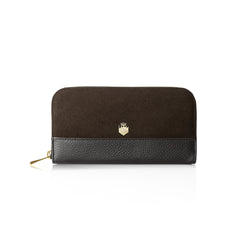 Fairfax Favor Ladies Purse Salisbury Chocolate suede