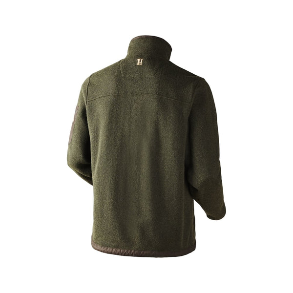 Norja full zip Cardigan (willow green melange)