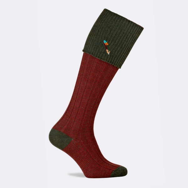 Dartmoor Shooting Sock (Hunter)