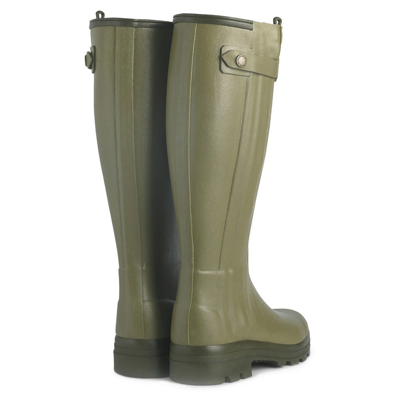 Ladies Chasseur Leather Lined Boot (Vert Vierzon)