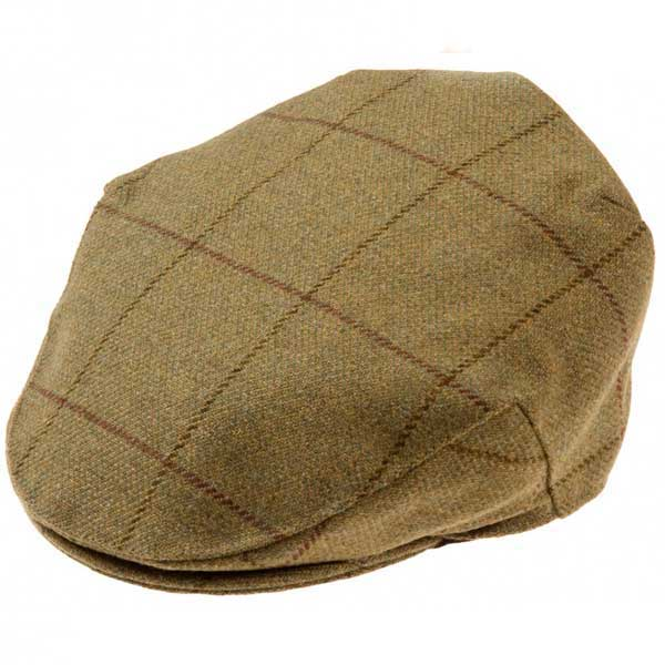 Alan Paine Rutland Tweed Cap (Lichen)