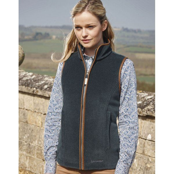 Lyndon Fleece Gilet (Kingfisher)