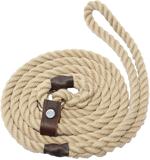 Natural Rope 10mm Dog Lead
