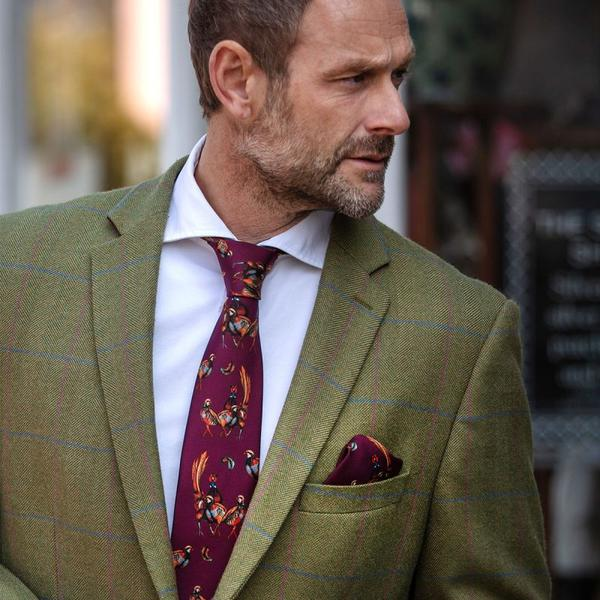 Limited Edition Silk Tie (Mulberry)