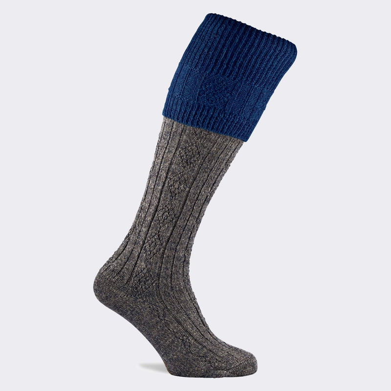 Defender Shooting Sock (Saphire)