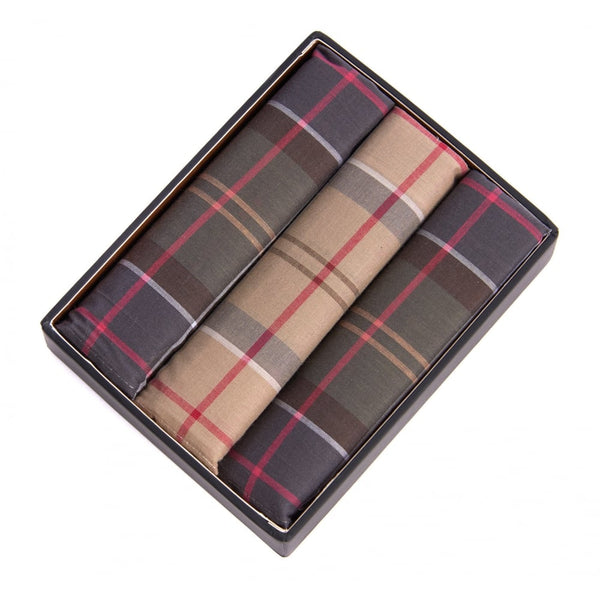 Tartan Pocket Squares (Set of 3)