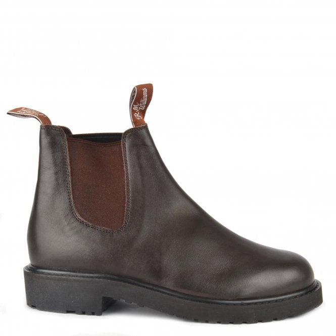 Stockyard Brown Leather Boot