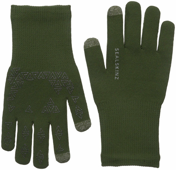 Sealskinz Ultra Grip Gloves (Green) XL