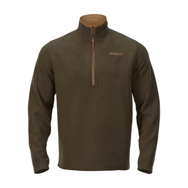 Sandhem Fleece Pullover (Willow Green Melange)