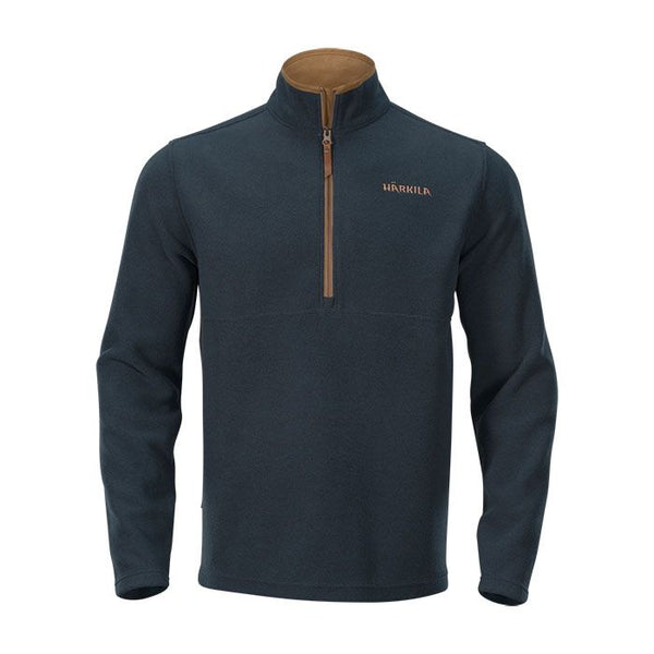 Sandhem Fleece Pullover (Dark Navy Melange)