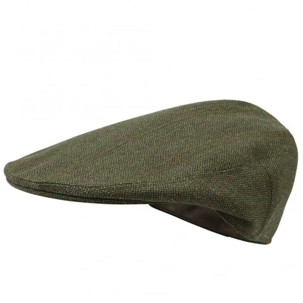 Sandringham Classic Tweed Cap (Green)