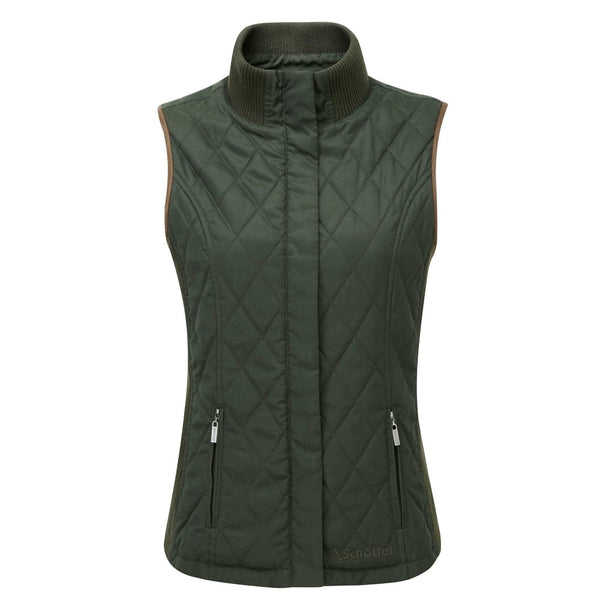 Ladies Islington Gilet (Dark Green)