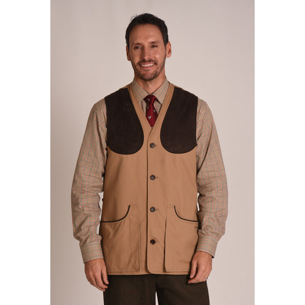 All seasons shooting vest (Camel)
