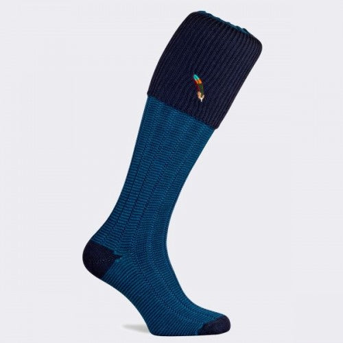 Dartmoor Shooting Sock (Midnight Navy)