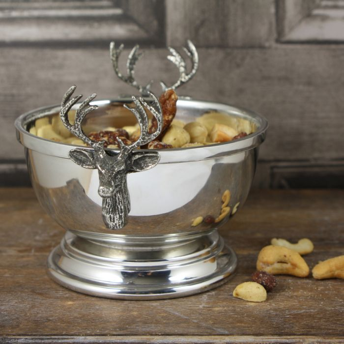 Stag Head Nut Bowl