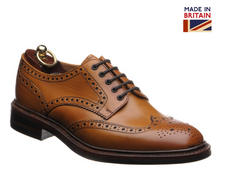 Chester rubber soled brogues (Tan)