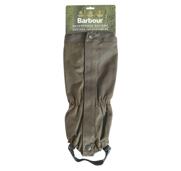 Barbour Wax Gaiters (Olive)