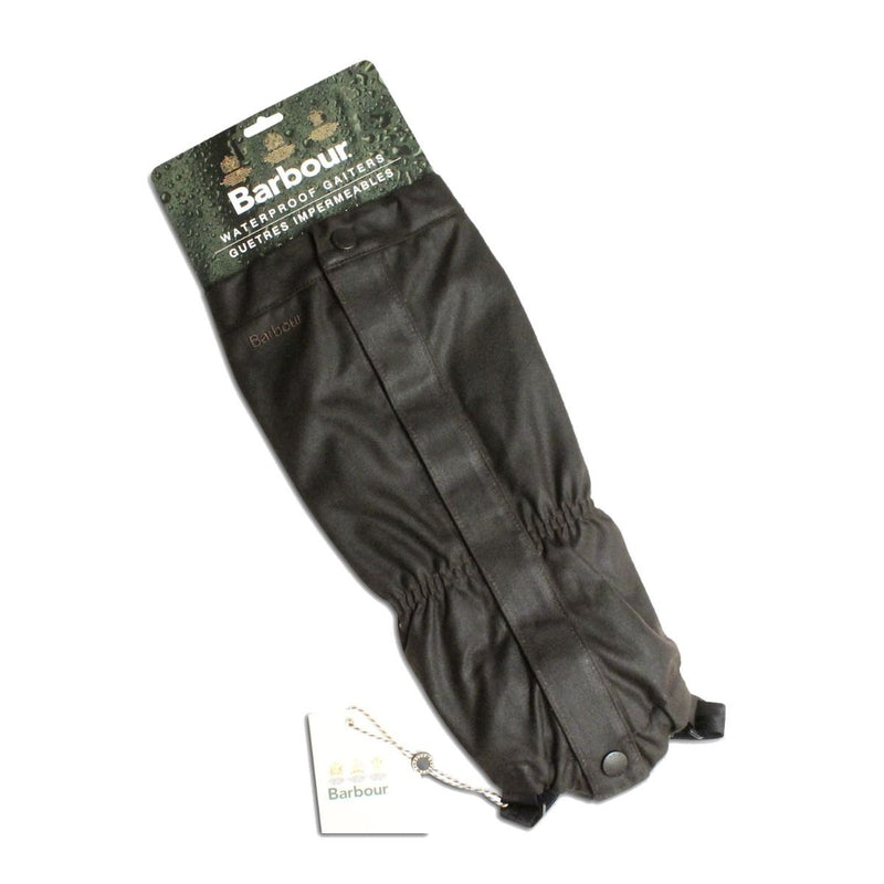 Barbour Wax Gaiters (Dark Olive)