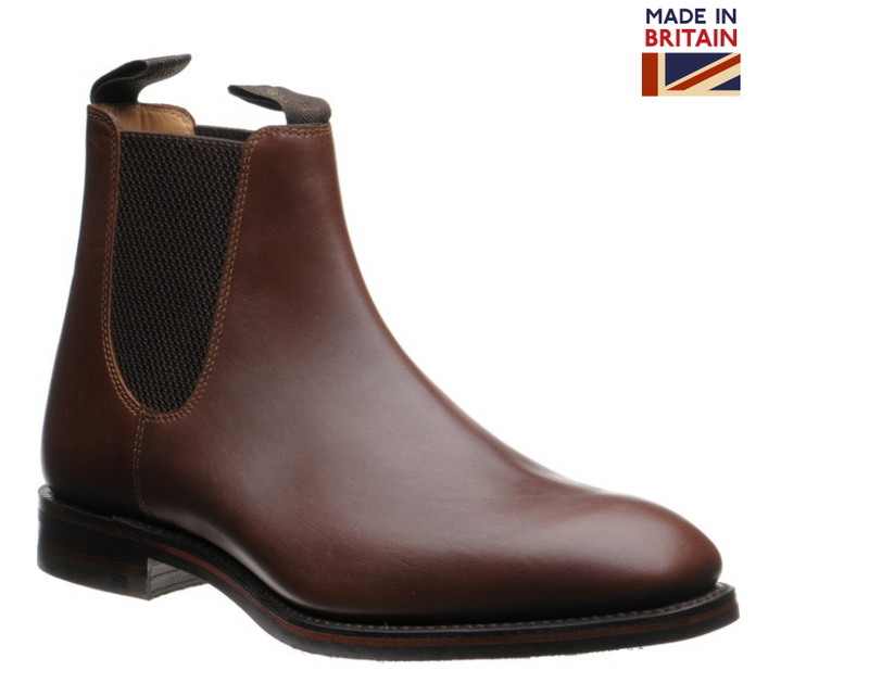 Chatsworth rubber soled chelsea boots (Brown)