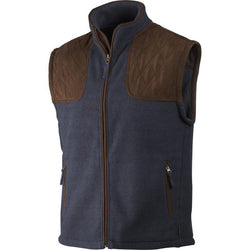 William Fleece Waistcoat (Navy)